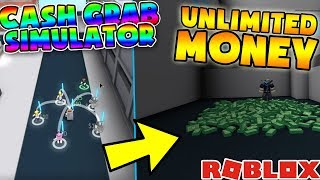 💰 HOW TO BECOME RICH! 💰 | (Cash Grab Simulator) | ROBLOX