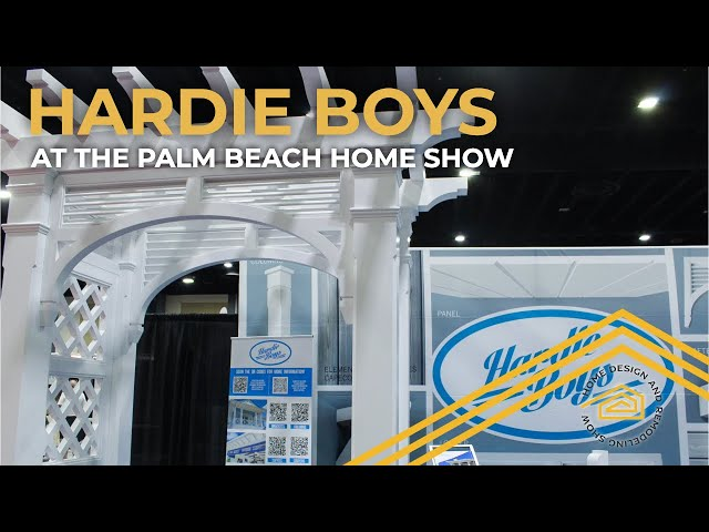 Hardie Boys at the Palm Beach Home Show