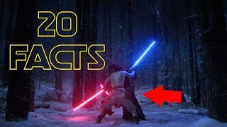 20 Facts You Didn't Know About Star Wars: The Force Awakens