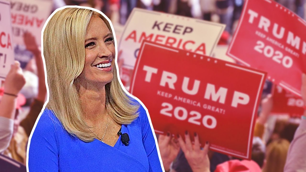Image result for EXCLUSIVE: Trump 2020 National Press Sec. Kayleigh McEnany Details Trump's Path To Re-Election