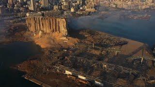 Líbano, ante la devastación tras potente explosión en Beirut