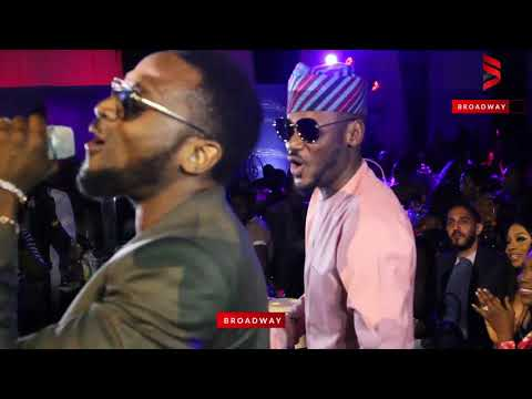 D'banj performs at Omotola Jalade's 40th Birthday