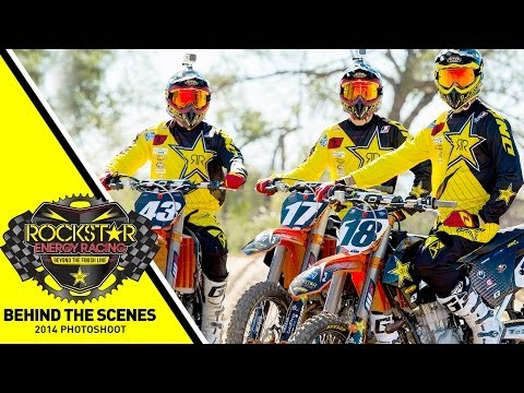 2014 Rockstar Energy Racing Photo Shoot
