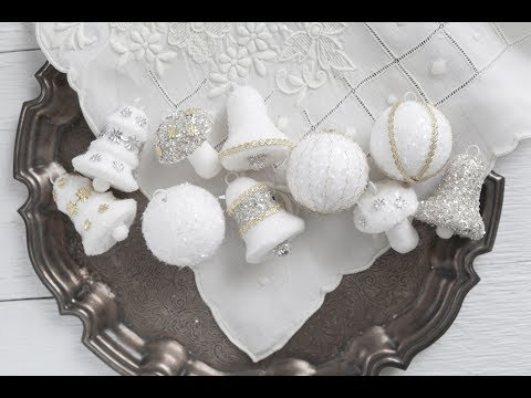 The Spun Cotton Ornament Kit - Make Vintage Style Christmas