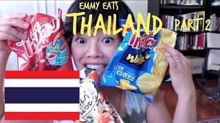 Emmy Eats Thailand part 2 - tasting more Thai treats