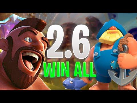 Download HOG 2.6 WIN EVERY DECKS - CLASH ROYALE Mp4 baru