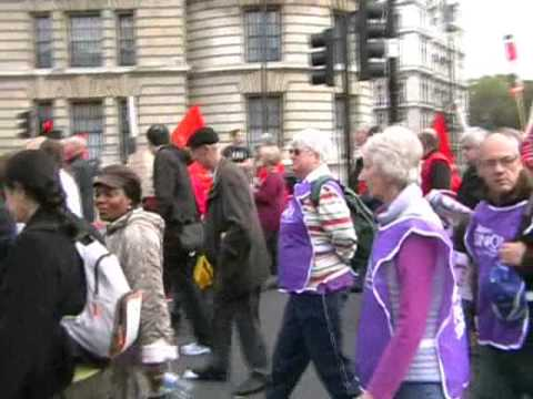 London Anti-Austerity Demo, Oct. 2012..