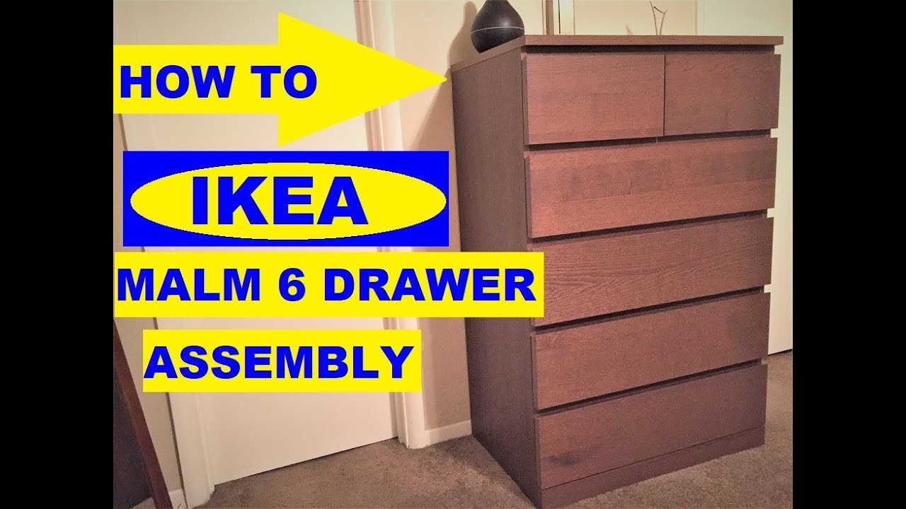 To Emble Ikea Malm 6 Drawer Chest