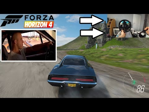 Forza Horizon 4 - Drifting Dom's Dodge Charger RT - Thrustmaster TMX