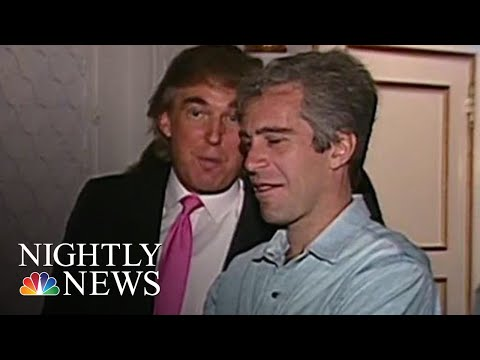 Newly-Surfaced Video Offers Glimpse Into Trump And Epstein's Past Relationship | NBC Nightly News