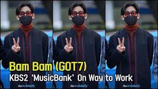 갓세븐(GOT7) 뱀뱀 포커스 11월 22일 뮤직뱅크 리허설 출근길 [WD영상]