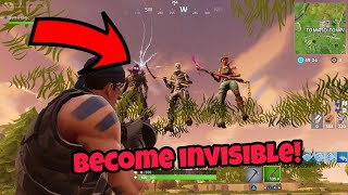 Fortnite Glitches Saison 5 (Nouveau) Devenir Invisible Facilement PS4/Xbox un 2018