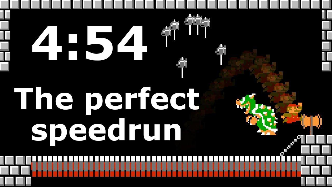 Why 4:54 is the perfect speedrun - Super Mario Bros. World Record Speedrun Explained