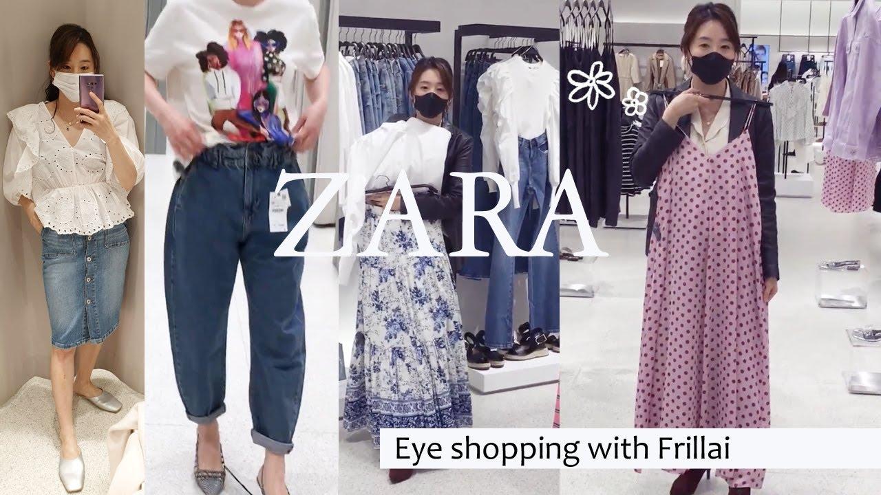 자라(ZARA) 매장 아이쇼핑!  #봄신상 #쇼핑하울 #봄옷추천