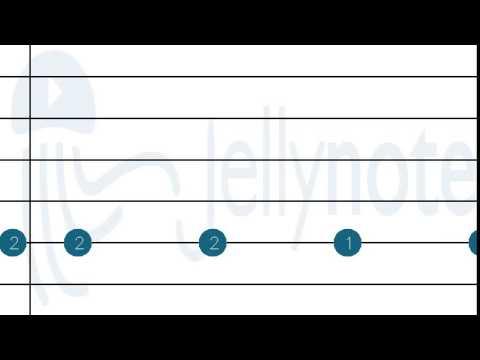 Guitar jellynote guitar tabs : Battlerock Galaxy - Super Mario Galaxy [Guitar tabs] Jellynote ...