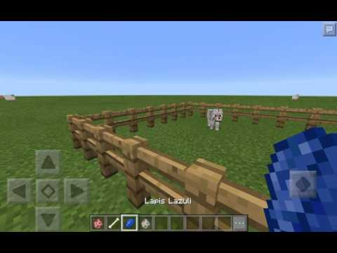 Minecraft | How to tame all tamable animals in Minecraft P.E.