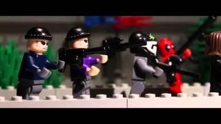 Lego Captain America  winter soldier Лего Капитан Америка  Зимний солдат
