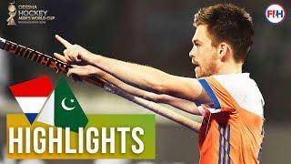 Netherlands v Pakistan | Odisha Men's Hockey World Cup Bhubaneswar 2018 | HIGHLIGHTS