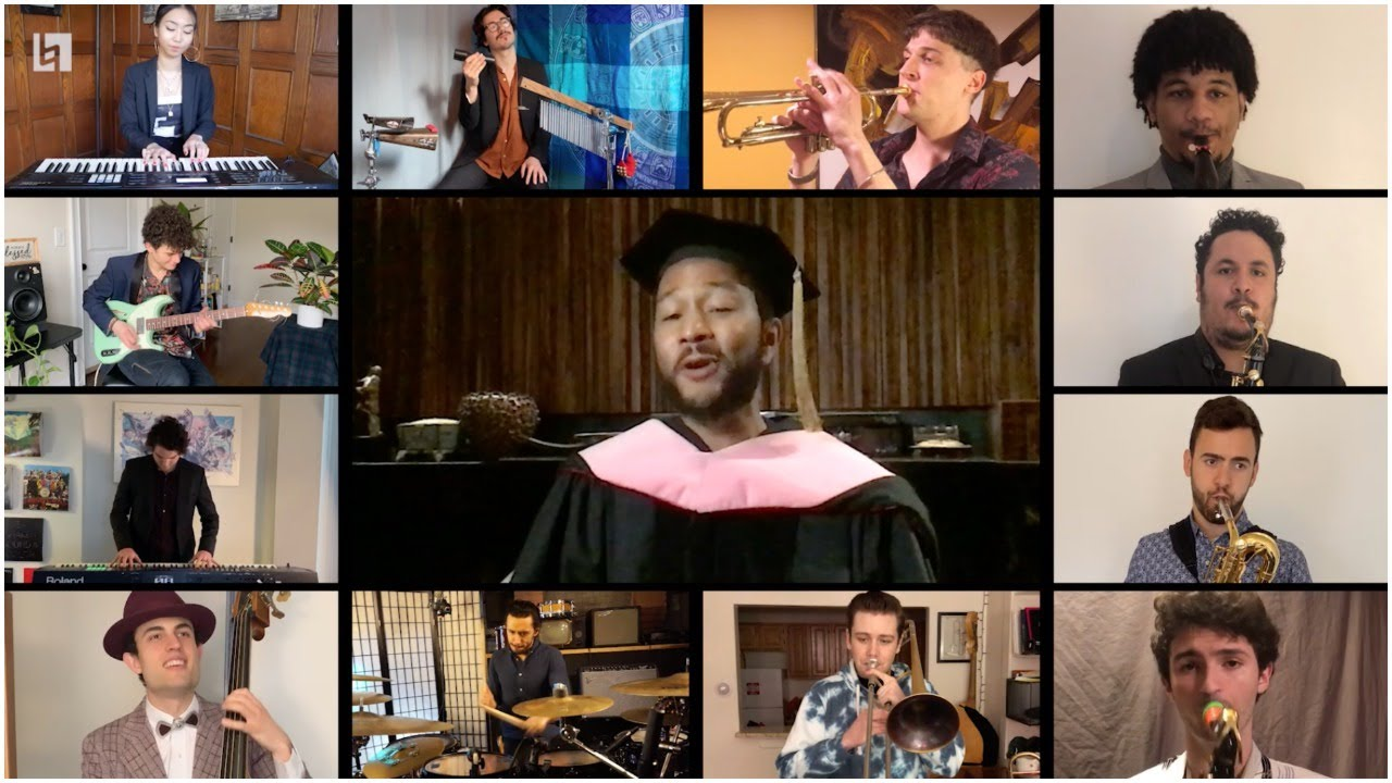 Berklee Tribute to John Legend - Berklee Virtual Commencement Concert