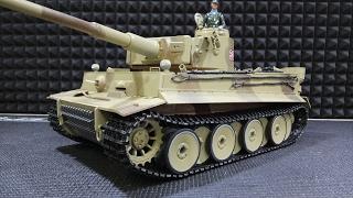 Тигр Готов !!! ... Р/У Танк Taigen German Tiger I Kit