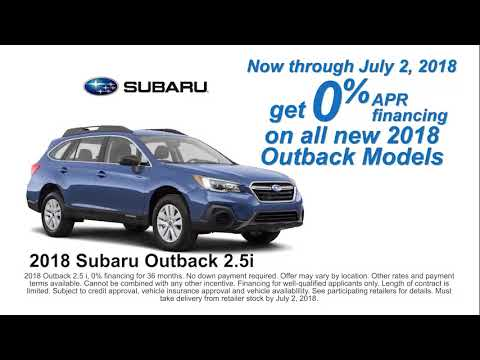 Subaru 0 Financing >> Paul Moak Subaru 0 Apr Financing On 2018 Outback Models