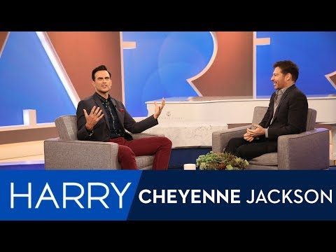 WEB EXCLUSIVE: Cheyenne Jackson Has Always Loved Harry Connick Jr!