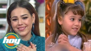 Danna Paola Se Puso Nostálgica Al Recordar Cuando Fue Parte De Hoy