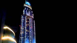 Burj Khalifa Water Dance in Dubai