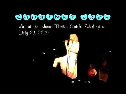 Courtney Love  live at the Moore Theatre in Seattle, WA (07/23/2013)