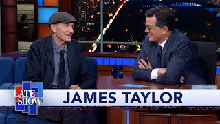 "James Taylor Was In The Studio When The Beatles Recorded ""The White Album"""