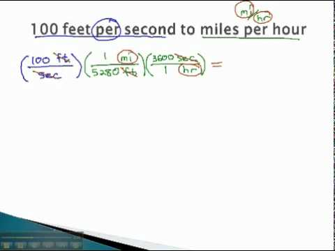 Dimensional Analysis - Two Units - YouTube.mp4