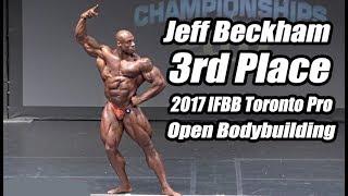 2017 IFBB Toronto Pro  Open Bodybuilding, Jeff Beckham 3rd Place