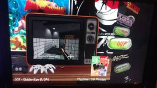 retropie ATTRACT MODE Hyperspin theme