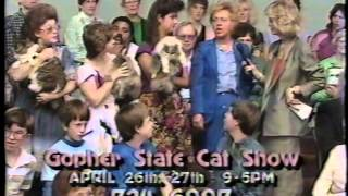 Gopher State Cat Club 1986 TV Appearance