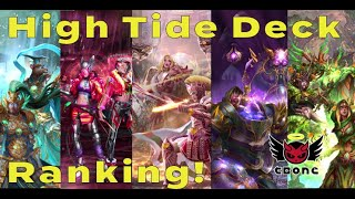 LGOH # 353 - High Tide Season Ranks!  Which cards are the best?