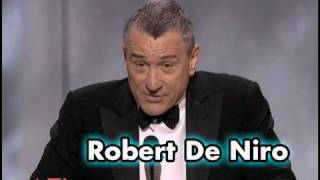 Robert De Niro On Working With Meryl Streep
