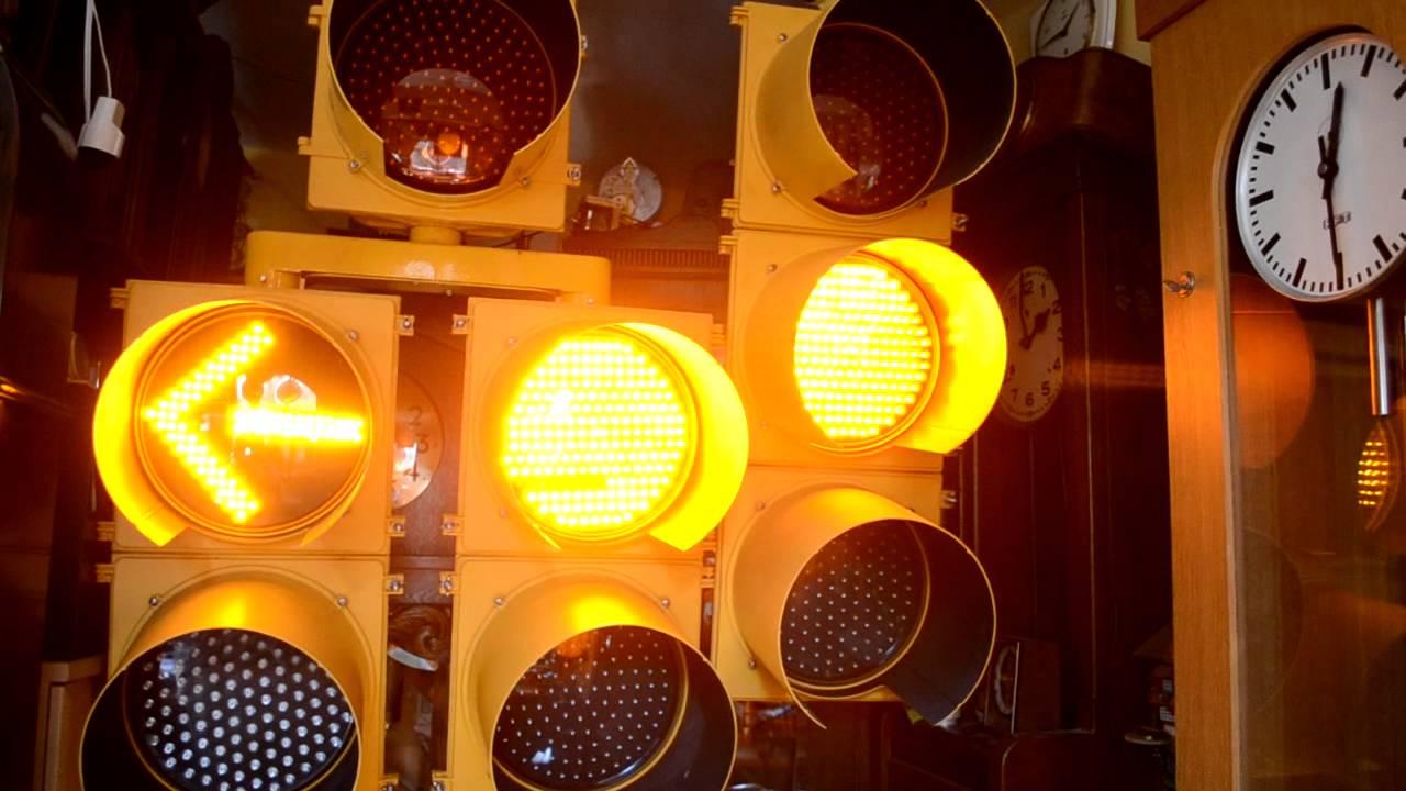 U S Traffic Light Quot Left Turn Quot Youtube
