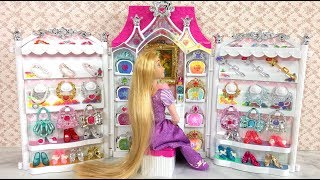 Princess Barbie Doll Jewelry Accessories Dress up باربي مجوهرات فساتين Barbie Vestidos Acessórios