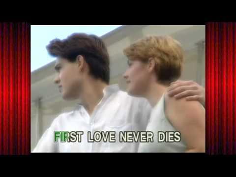 First Love Never Dies - Eugene Wilde and Joanna Gardner (Karaoke-Videoke♪)