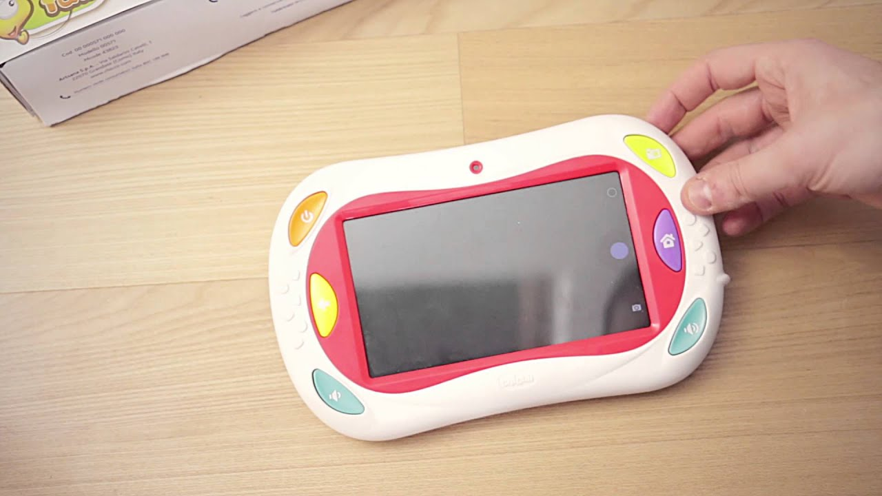 Tablet chicco happy tab dai 18 mesi ai 6 anni come for Happy tab chicco microfono