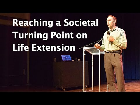 Life Extension: How to Reach a Societal Turning Point — Talk by Keith Comito at D.N.A. Conference