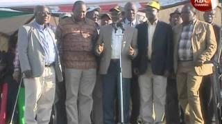 ALADWA SWORN IN AS NAIROBI ODM CHAIRMAN AND PNU TOUR KISII COUNTY
