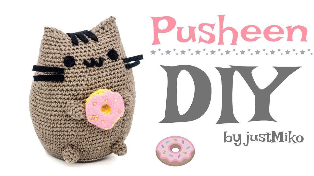 Pusheen the Cat häkeln 🍩 *Do it Yourself* Amigurumi | Katze - YouTube
