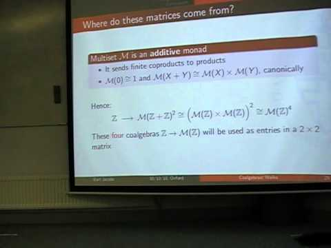 "Bart Jacobs: ""Coalgebraic walks, in quantum and Turing computation"""