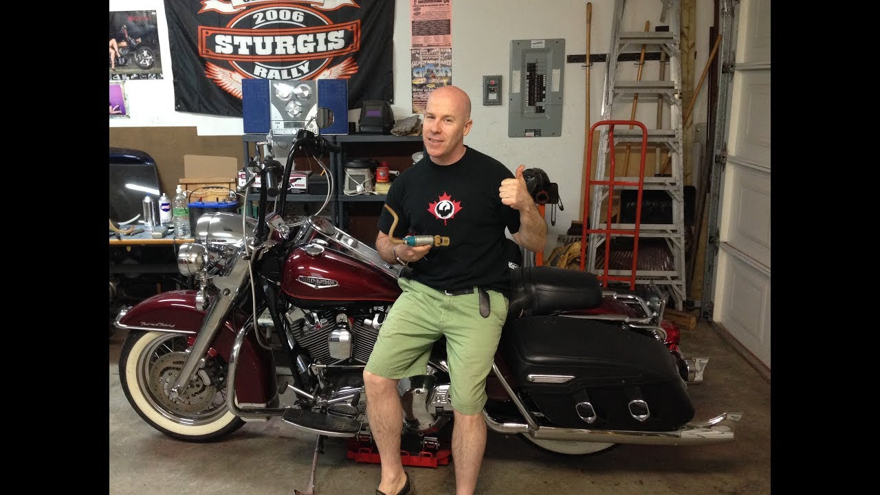 Harley Davidson Fuel Pump Replacement On 2002 Roadking Youtube