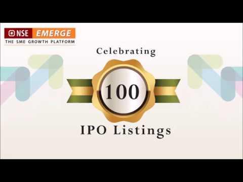 Speech of Shri Suresh Prabhu, Hon' Minister of Commerce & Industry, at 100 IPO listing on NSE Emerge