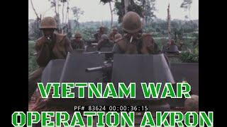 JUNE 1967  VIETNAM WAR  OPERATION AKRON  RAW FOOTAGE 75th CAVALRY REGIMENT 83624