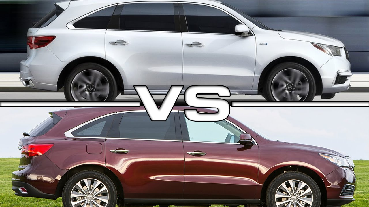2017 Acura Mdx Vs Suv Comparison