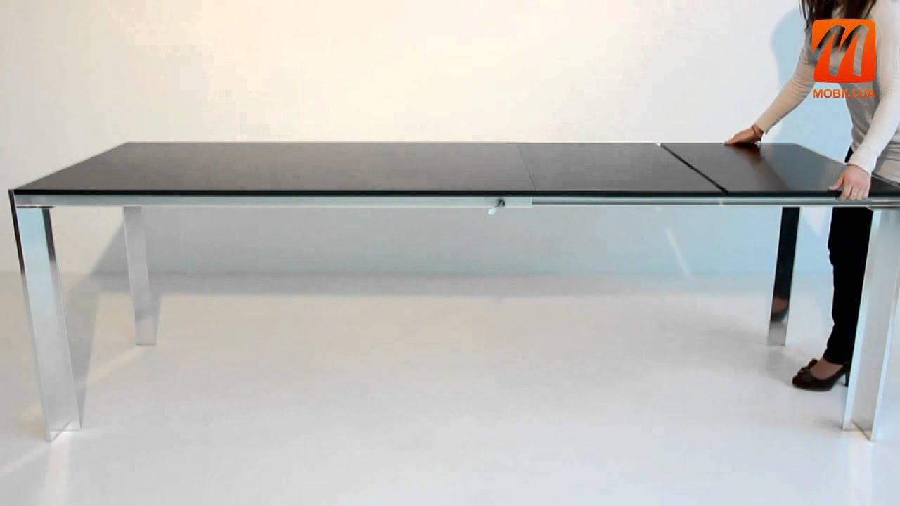 Круглый раздвижной стол - YouTube