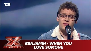 Benjamin synger 'When You Love Someone' -  James TW (Live) | X Factor 2019 | TV 2